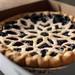 pretty blueberry pie