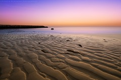 The Beach Sand (khalid almasoud) Tags: morning light sea beach colors beautiful sunrise sand soft all photographer shadows pentax dunes tide low  sigma calm beam formation rights kuwait khalid reserved appearance  icapture    greatphotographers     photographyrocks k01  alkhairan  10mm20mm almasoud      thebestofday gnneniyisi