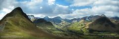 Catbells (gms) Tags: england panorama mountain landscape view hill lakedistrict cumbria catbells causeypike derwentfells eskadale