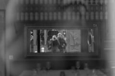 [ Frienship ] (Jérémie Le Guen) Tags: street portrait blackandwhite white selfportrait man black france reflection analog dark french 50mm blurry noir darkness minolta wine noiretblanc bokeh bordeaux blurred reflet sombre 400 portraiture streetphoto asa blanc ilford manualfocus homme argentique x700 aquitaine fixedfocallength hp5400plus leziwok believeinfilm