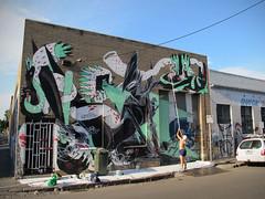 SHIDA | k n a r f (K N A R F) Tags: new streetart tom graffiti yo plymouth turbo zealand eno shida orf konfetti knarf bauzz downundertour2013 aussiethundaswag