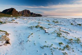 Andenes (Vesteralen) - The white beach