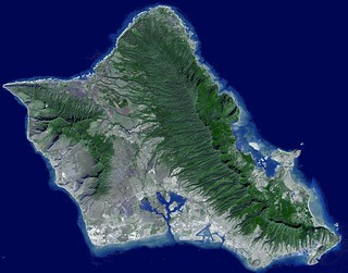 Hawaii Oahu Honolulu Map