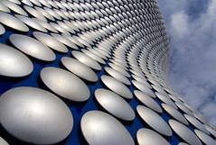 Bobbly Birmingham (Paul 'Tuna' Turner) Tags: city uk greatbritain travel vacation england holiday architecture shopping design store birmingham europe unitedkingdom britain eu shoppingcentre landmark selfridges modernarchitecture westmidlands europeanunion futuresystems themidlands thebullring flickraward thebobblesbuilding