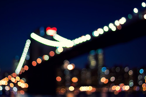Brooklyn Bridge Bokeh