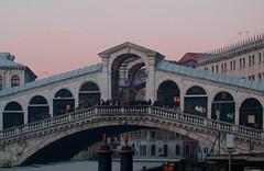 Rialto Bridge at Dusk - Venice (Gilli8888) Tags: bridge venice italy rialtobridge canal rialto archbridge
