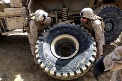 130323-M-KS710-048 (U.S. Department of Defense Current Photos) Tags: afghanistan usmc usmarine helmand helmandprovince clr2 mineresistantambushprotectedallterrainvehicle jcccproduct sgtanthonylortiz combatlogisticsregiment2