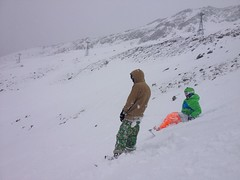 Artyom and Den (Ekaterina Sotova) Tags: winter snow mountains snowboarding march spring russia extreme freeride holydays madnes caucas bous 2013 dombay karachaycherkessia