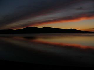Sunset Over Kirbister Loch