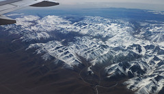 Tian Shan Mountain Range (Mule67) Tags: china road mountain snow plane tian jet silk xinjiang shan range kishi urumqi 5photosaday kishgar
