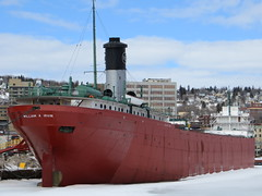 SS William A. Irvin freighter (Joel Abroad) Tags: minnesota museum marina harbor slip duluth freighter williamairvin