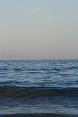 Mediterranean sea (Arina :]) Tags: blue sea summer sky canon spain afternoon horizon benidorm 2012 themediterraneansea 1000d