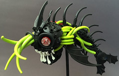 Infected Needlemouth (Lord-Oblivion) Tags: fish parasite moc lego bionicle lordoblivion