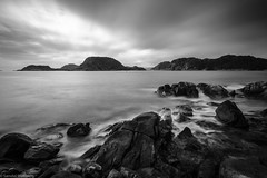 #korshamn #lyngdal #sørlandet #norway #clouds #seascape #ocean #waves #rocks #longexposure #leefilters #bigstopper #blackandwhite #fujifilm #xpro2 #acros #rainiscoming (Steinskog) Tags: square squareformat iphoneography instagramapp uploaded:by=instagram