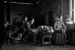 Local breakfast shop in Mui Ne, Vietnam (1) (-clicking-) Tags: streetphotography streetlife streetportrait smoke breakfast shop morning delicious local blackandwhite blackwhite nocolors monochrome monotone bw life dailylife vietnam