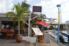 La Belle Époque restaurant and Café de Paris at Marina Royale in Marigot Collectivité de Saint-Martin France French side of the island of Saint Martin (RYANISLAND) Tags: france french saintmartin stmartin saint st collectivity martin collectivityofsaintmartin collectivité collectivitédesaintmartin marigot frenchcaribbean frenchwestindies thecaribbean caribbean caribbeanisland caribbeanislands island islands leewardislands leewardisland westindies indies lesserantilles antilles caribbees