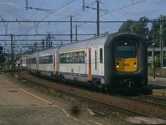 455 @ Kortrijk (ianjpoole) Tags: nmbs sncb type am96 455 working train ic735 poperinge antwerpen centraal