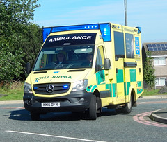 NK15OFN (Cobalt271) Tags: nk15ofn neas mercedes sprinter 519 cdi was emergency ambulance