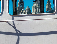 4 o'clock Shadow (stephenbryan825) Tags: albertdock liverpool portofliverpoolbuilding royalliverbuilding buildings contrast dome glass graphic selects shadows threegraces