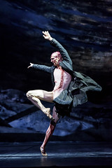Nehemiah Kish as The Creature in Frankenstein, The Royal Ballet  2016 ROH. Photograph by Bill Cooper (Royal Opera House Covent Garden) Tags: nehemiahkish frankenstein production productionphoto byliamscarlett theroyalballet actionshot