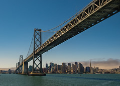 Bay Bridge & San Francisco Skyline (noeltykay) Tags: baybridge fuji fujifinepix fujixt1 fujifilm fujifilmxt1 mirrorless sanfrancisco xt1