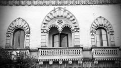 3 balcony (point camera) Tags: balcony balcone biancoenero blackandwhite monocolore monochrome monocromo monotono monotone architecture architettura front facciata galatina