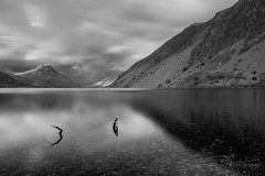 Apparitions (daveadam84) Tags: lakedistrict lake landscape cumbria wastwater wasdale screes clouds longexposure water mono