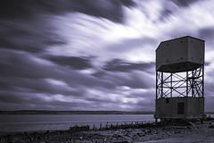 Radar Tower (234/366) (AdaMoorePhotography) Tags: radar radartower longexposure lee leefilters leebigstopper leelittlestopper 366 england essex coast coastal coalhousefort landscape countryside clouds nikon 18105mm d7200