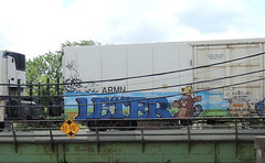 Leter (Select1200) Tags: benching freights trains graffiti railroad chicago art