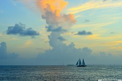 Fading skies in the Florida Keys (TheSaltyPhotographer) Tags: florida sky keys ocean water sunset salty photographer amateur