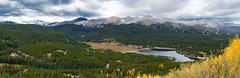 Goose Pasture Tarn (Ron Scubadiver's Wild Life) Tags: alpine landscape rocky mountains breckenridge colorado aspen turning nikon 24120 panoramic