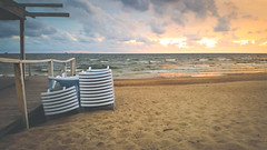 The beach season is over (Ilia A) Tags: beach sea autumn sand sky evening samsung galaxy s6