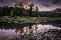 Triglav Lakes (Croosterpix) Tags: sunset lake mountain alps slovenia nature landscape nikond610 nikkor1835