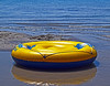 The Toys of Summer (oybay©) Tags: bearlake bear lake idaho raft water reflection color colors summer toy kids floater floatie wet wild vacation iconic nature natural lifesaver life saver yellow blue cool cooler coolest refresh floaton