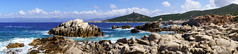 Corse (Yann OG) Tags: corse corsica france franais french panorama panoramique panoramic rocher mer sea tour tourgnoise tower vague sigma30mm seascape