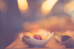 Sweet Bokeh (Bokehschtig (ON/OFF)) Tags: bokeh dof depthoffield dephtoffield macarons sweets blur sony sonya7m2 sonya7markii sonya7ii a7ii sel85f14gm 85mm f14 indoor light food munich bmwwelt mnchen pov shallowdepthoffield