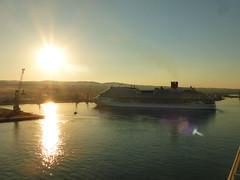 Morning Arrival (neuphin) Tags: cruise ship costa diadema morning sunrise