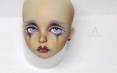 My faceup for LeekeWorld Benjamin (AnMoony) Tags: bjd bjdoll doll custom leekeworld benjamin faceup