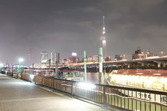 Sumida River (John M Smith) Tags: tokyo river sumida yakatabune skytree