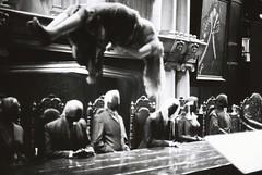 Death Eaters (goodfella2459) Tags: nikon f4 kodak trix 400 35mm black white film analog harry potter studio tour warner bros j k rowling death eaters voldemort milf