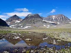 Spiegel (~janne) Tags: berge europa gewsser kamera see umwelt wasser em1 environment europe lappland omd schweden sea spiegelung water norrbottensln se