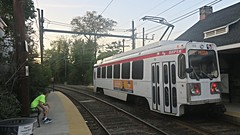 Philadelphie (Suburban) (Jean (tarkastad)) Tags: tarkastad usa unitedstates etatsunis lightrail lrt strasenbahn streetcar tram tramway stadtbahn