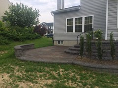 after (6) (The Sharper Cut Landscapes) Tags: belgardhardscapes backyard landscapedesign landscaping landscapecompany landscapelighting patio pavers plantings seatwall steps retainingwall thesharpercutlandscapes thesharpercut
