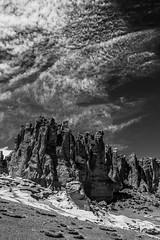 Catedrales de Tara. (Jochen Putlitz) Tags: sanpedrodeatacama bw blackandwhite outdoor desert chileandesert salardetara catedralesdetara atacamadesert atacama