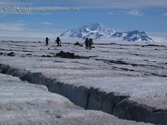Heading out of the Ice cap