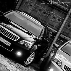 (AsooM photographer) Tags: 2 bw cars photographer royal sharpen caprice رويال asoom كابرس
