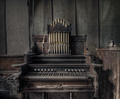 :Organ Room: (Neon Nine) Tags: old music house nikon decay room explore organ hdr d300