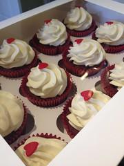 Romantic Red Velvet Cupcakes
