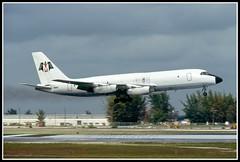 N8811E Monarch Aviation (Bob Garrard) Tags: costa lines aviation air delta rica monarch mia 880 convair serca kmia n8811e