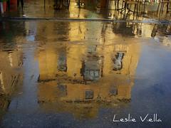 After the rain, Valletta, Malta (leslievella64) Tags: city reflection building rain europe mediterranean sony january eu cybershot malta leslie maltese palazzo malte valletta maltais leslievella64